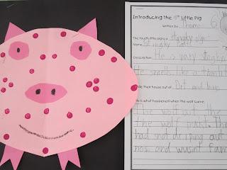 Three Little Pigs - First Grade Roars!