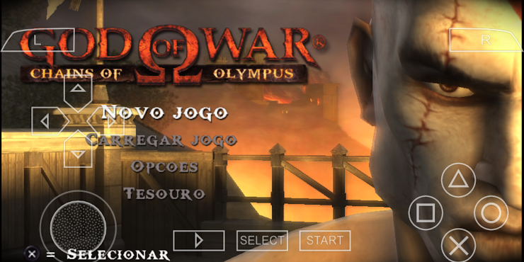 PPSSPP GOD OF WAR CHAINS OF OLYMPUS+SAVE DATA