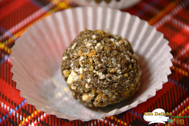 chocolate halva truffles כדורי חלוה שוקולד