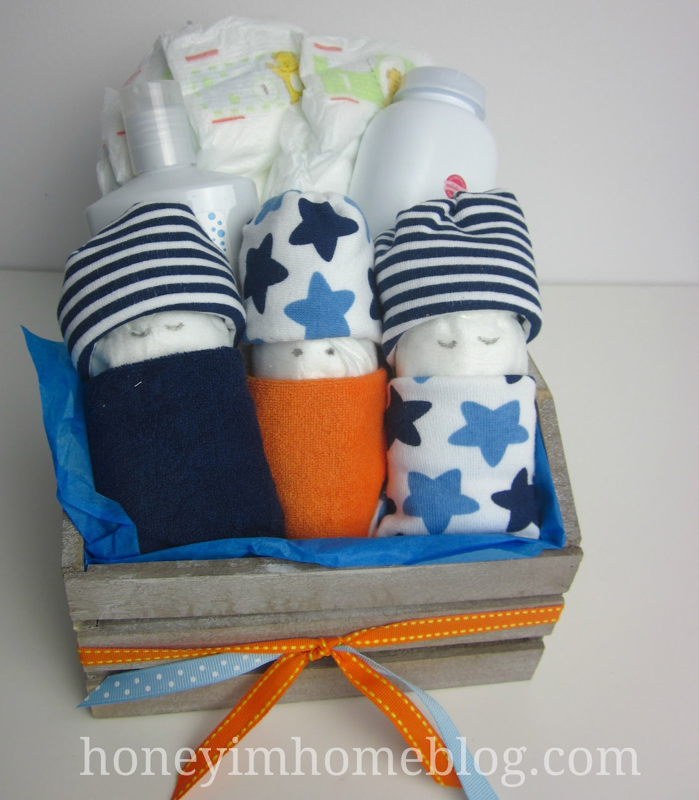 Honey I M Home Making Baby Gifts With Diapers On Studio 5