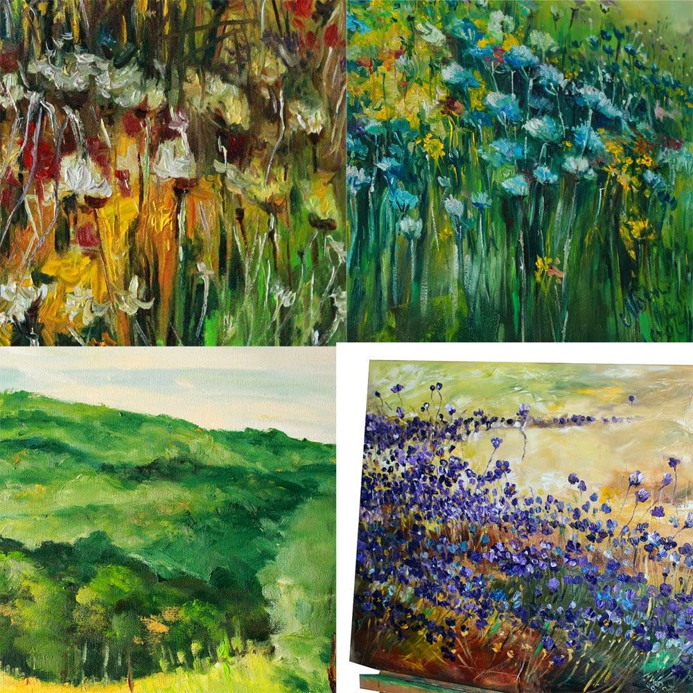 obrazy łąki i inne krajobrazy