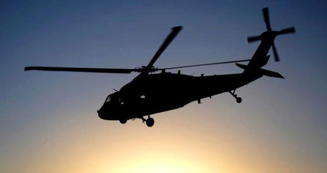 polis helikopteri düştü