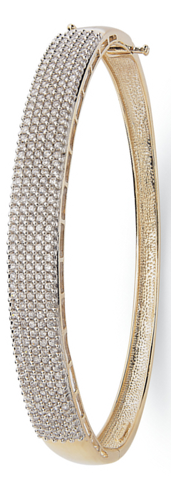 YellOra™ Diamond 5-Row Bangle Bracelet in YellOra™