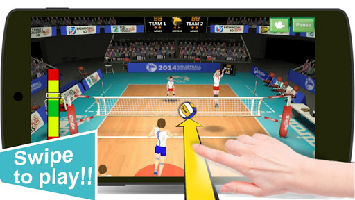 Volleyball Champions 3D v7.1 (Mod Apk Money)
