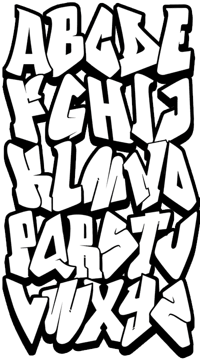 Graffiti alphabet graffitipic graffitialphabet doodles photograph alphabet graffiti altavistaventures Gallery