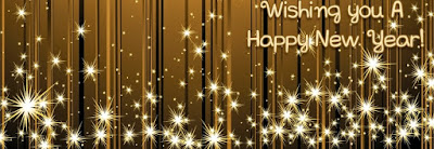 Happy New Year FB Covers, 851x315 Images, Banner Download
