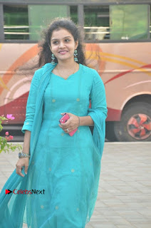 Tamil Actress Preethi Stills in Green Salwar Kameez at Kuzhalosai 2nd Anniversary Fund Raising Event  0026.jpg