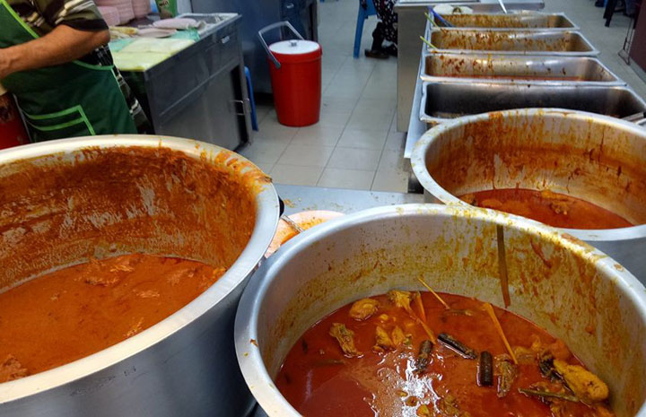 Lauk Pauk Sedap Restoran Nasi Kandar Ali Parit Buntar