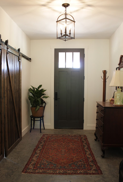 Eclectic farmhouse tour: Entry way | House Homemade