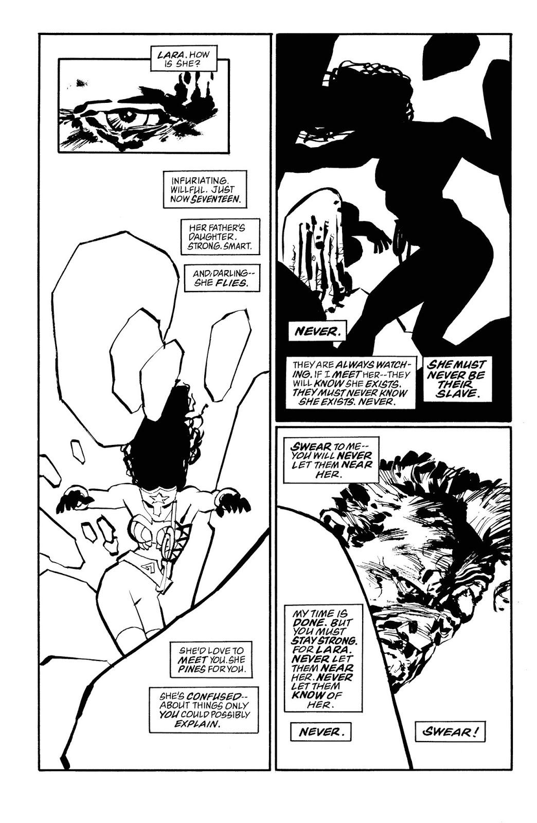 Read online Batman Noir: The Dark Knight Strikes Again comic -  Issue # TPB (Part 2) - 1