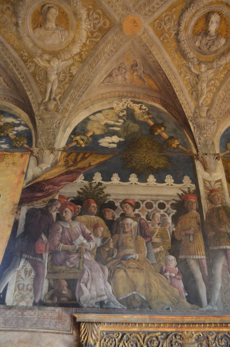 I viaggi di raffaella il palazzo ducale di mantova la for La corte dei gonzaga mantegna
