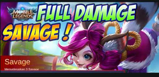 Build Item Nana Mobile Legend Terbaru Savage Full Damage