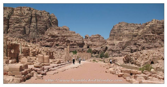 Colonnaded Street, Petra, Jordan