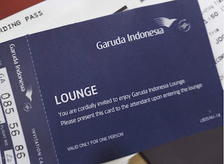 Kupon akses Garuda Executive Lounge