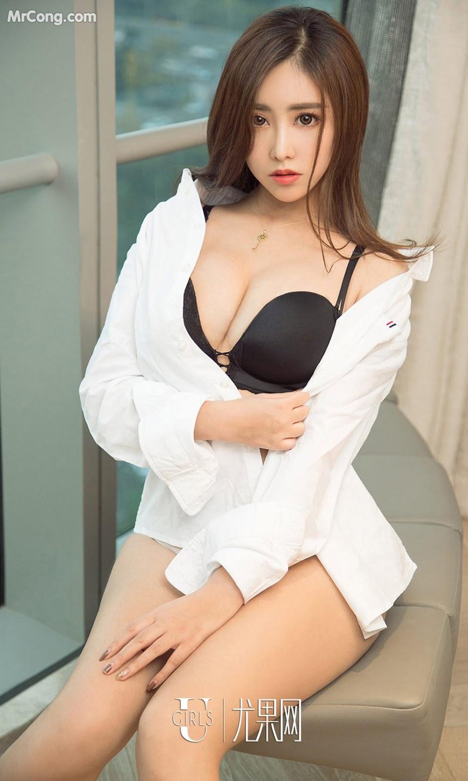 Image UGIRLS-Ai-You-Wu-App-No.930-Chen-Mei-Xi-MrCong.com-005 in post UGIRLS – Ai You Wu App No.930: Người mẫu Chen Mei Xi (陈美熙) (40 ảnh)