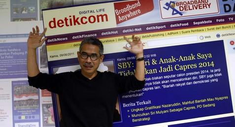 Budiono Darsono ~ Pendiri Detik.com, Media Online Terbesar di Indonesia