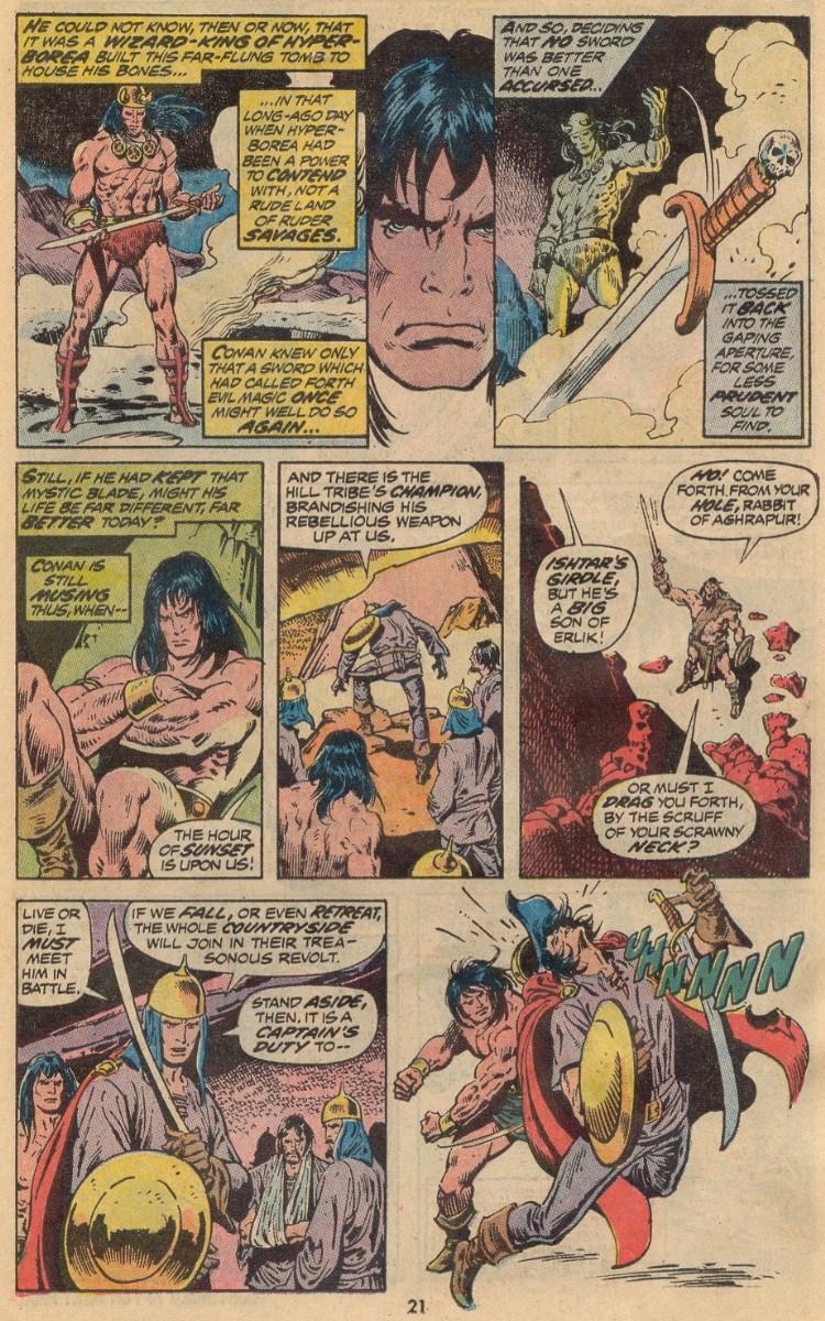 Conan the Barbarian (1970) 31 Page 14
