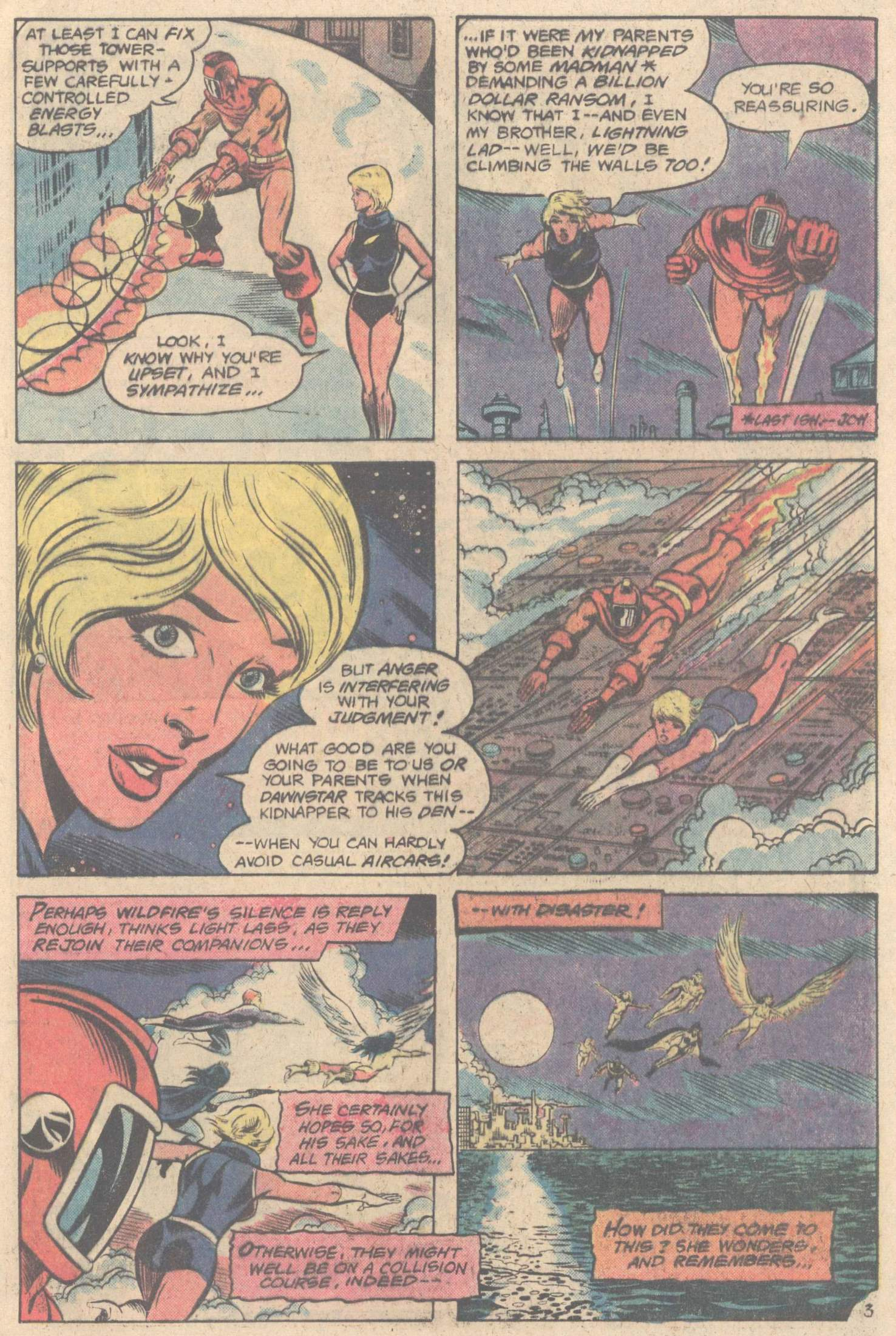 Legion of Super-Heroes (1980) 264 Page 4