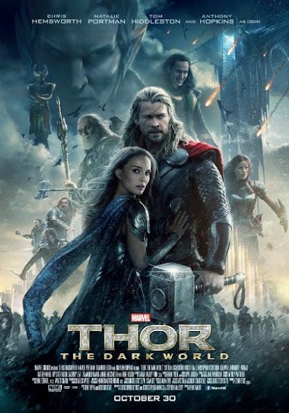 Poster Of Thor The Dark World 2013 720p Hindi BRRip Dual Audio Full Movie