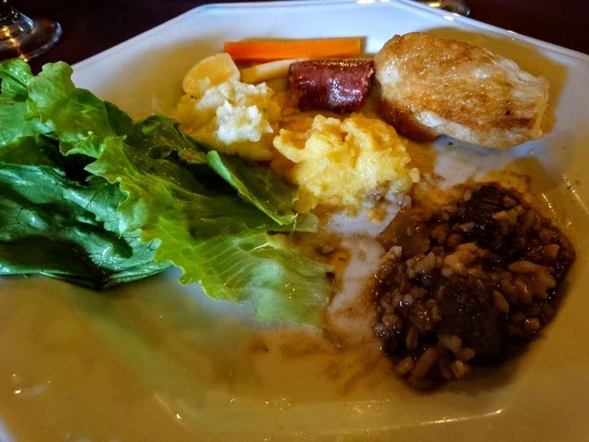 Restaurantes em Carlos Barbosa: Casa Borsoi  - Risoto de carne com cacau