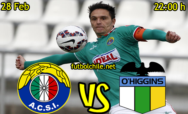 VER STREAM EN VIVO, ONLINE: Audax Italiano vs O'Higgins