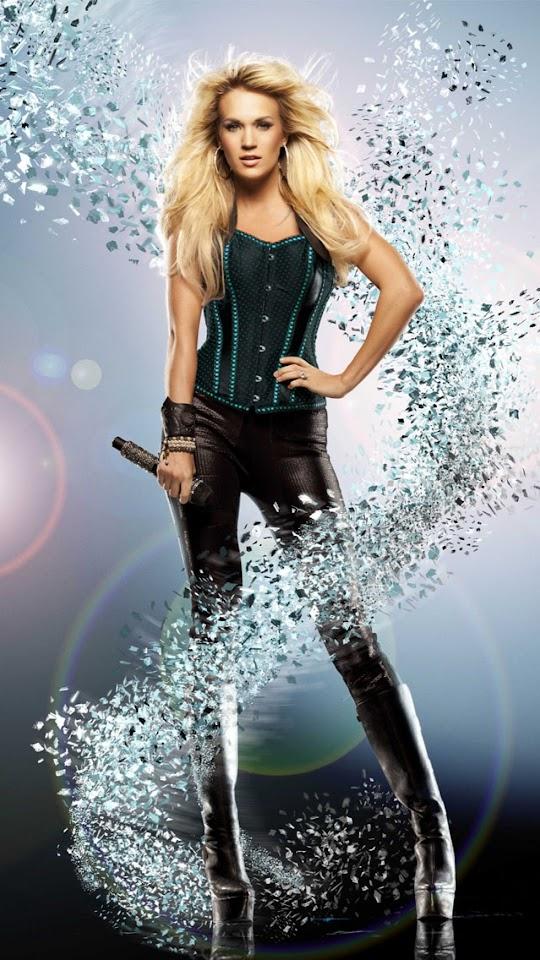 Carrie Underwood   Galaxy Note HD Wallpaper