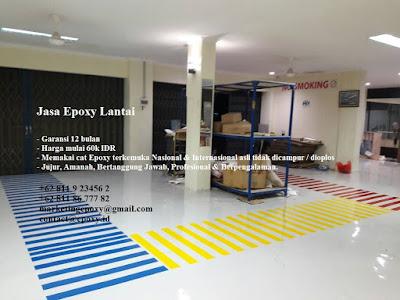 jasa epoxy lantai gudang tangerang