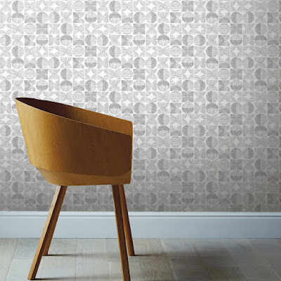 papel de pared geometrico con tendencia retro 902402