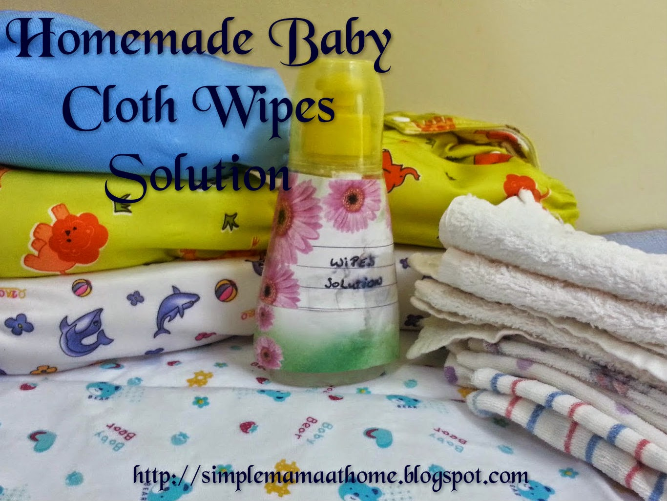 Homemade Baby Cloth Wipes Solution