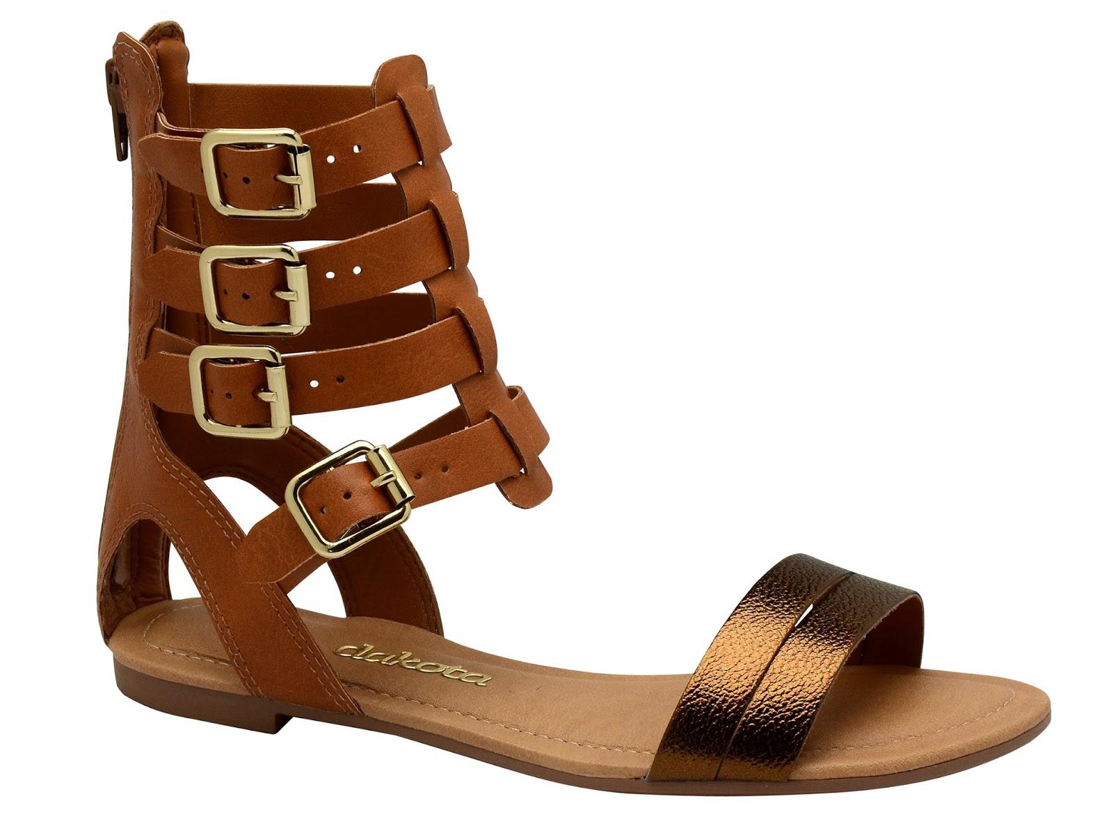 07c5be8884 Glamour e Felicidade  Moda  Dakota aposta em sandálias gladiadoras ...