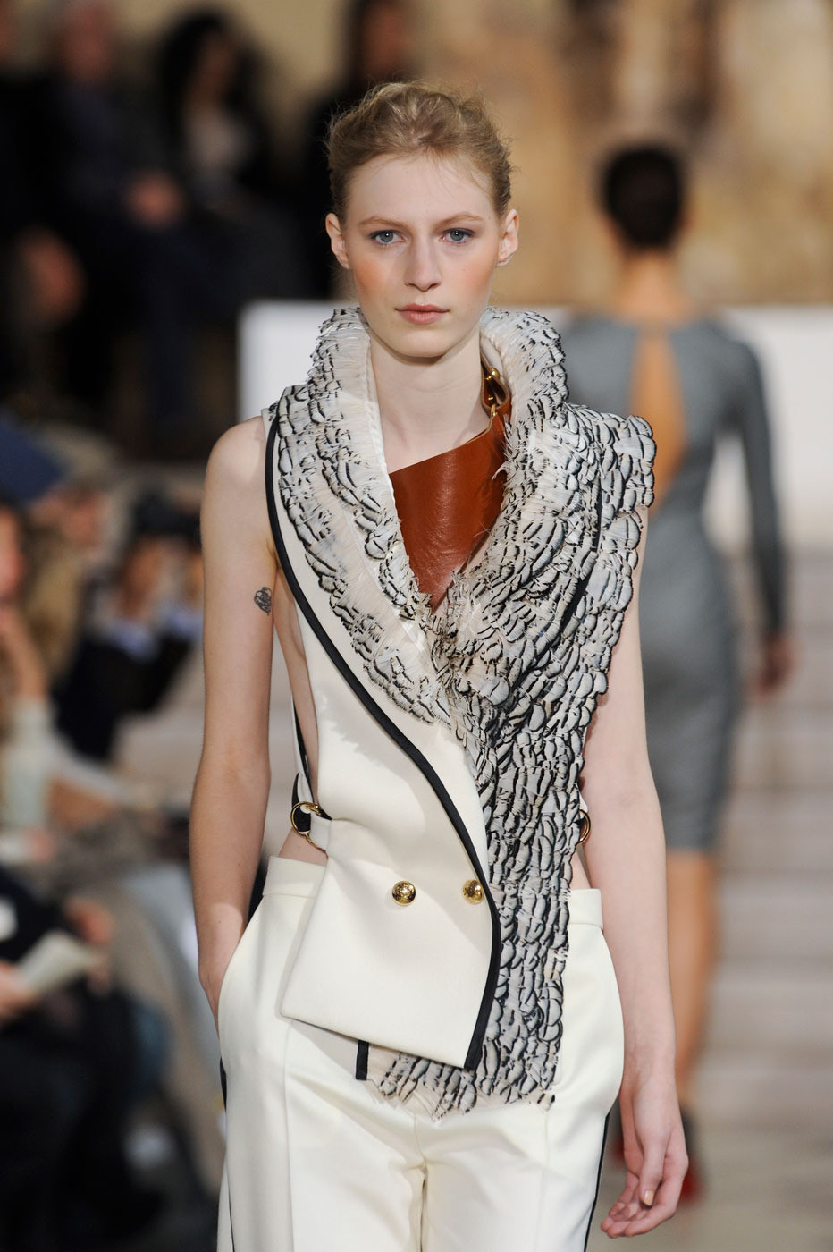 Bouchra Jarrar Haute Couture Spring-Summer 2012 / Lanvin new fashion designer via www.fashionedbylove.co.uk