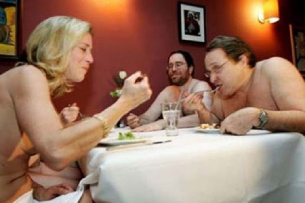 First All Nude Restaurant Opens In London Sister Sister