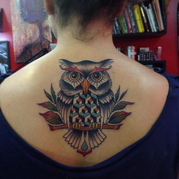 d9d970d98 Tatuagens inspiradas na beleza misteriosa das Corujas