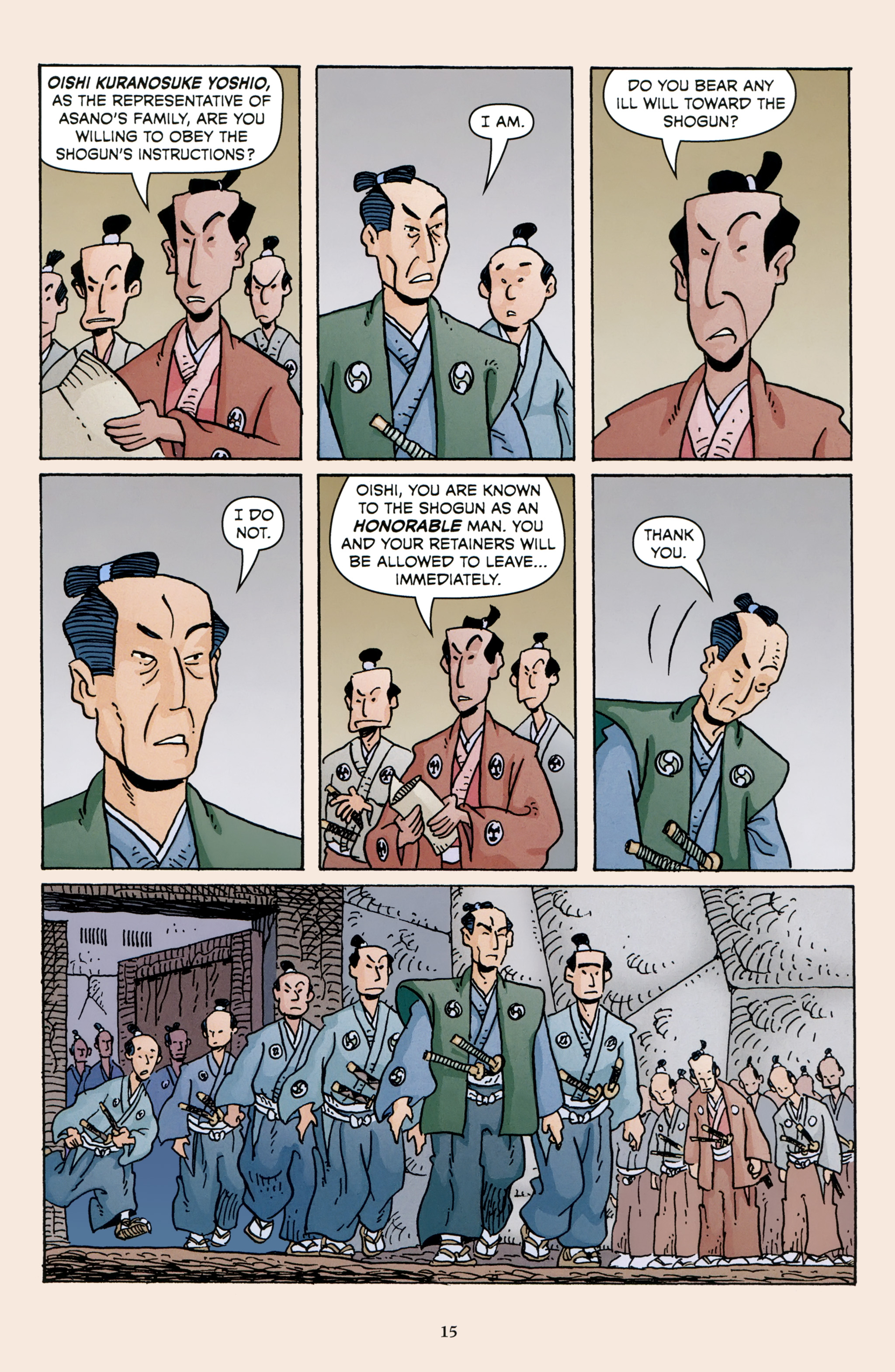 Read online 47 Ronin comic -  Issue #3 - 17