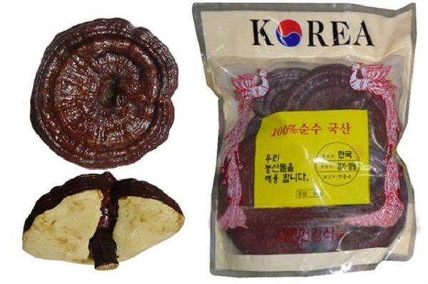 Nấm linh chi Hàn Quốc chăm sóc sức khỏe