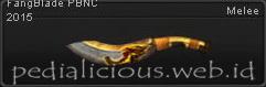 Senjata PB Fang Blade PBNC 2015