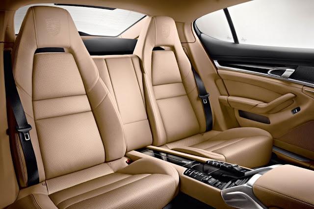 2013 Porsche Panamera Platinum Edition Rear Interior