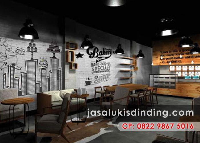 Lukisan Cafe dan Restoran Masa Kini