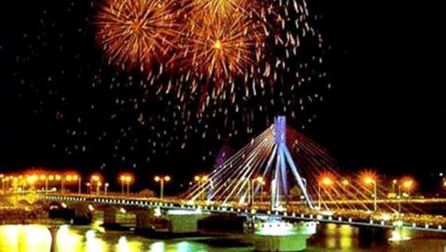 Celebracion del Tet en Da Nang