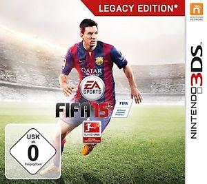 FIFA 15: Legacy Edition, 3DS, Español, Mega, Mediafire