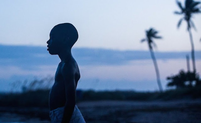 Moonlight, Movie Still, Barry Jenkins, beach scene, Little