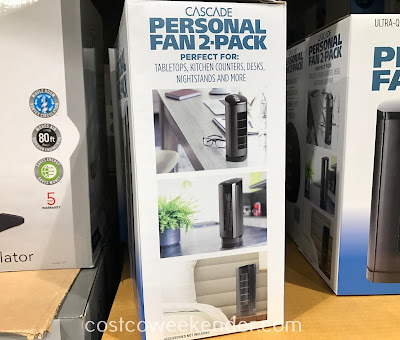 Costco 1187363 - Outfit any room in your house or your office with the Blackstone Cascade Personal Fan