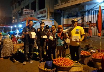Saur on The Road Ridho-Bachtiar Tuai Respon Positif Masyarakat Lampung