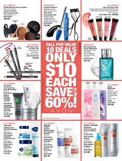Avon $10 Deals Campaigns 20 & 21 2016 Shop: 9/3/16 - 9/30/16