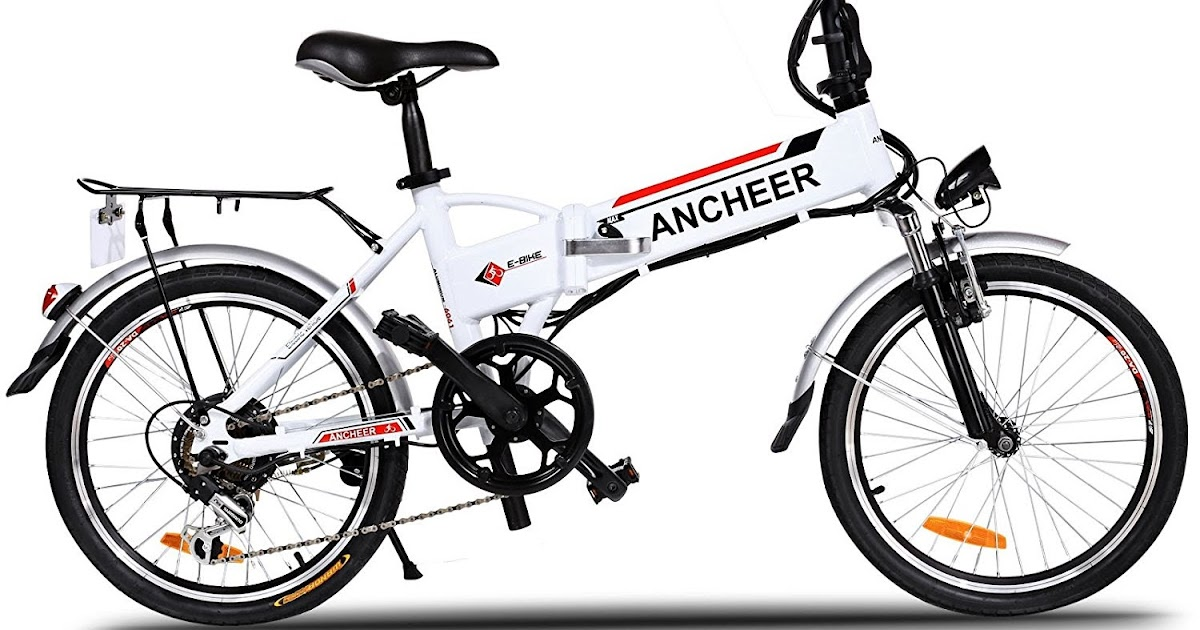 Exercise Bike Zone Ancheer Power Plus Folding Electric