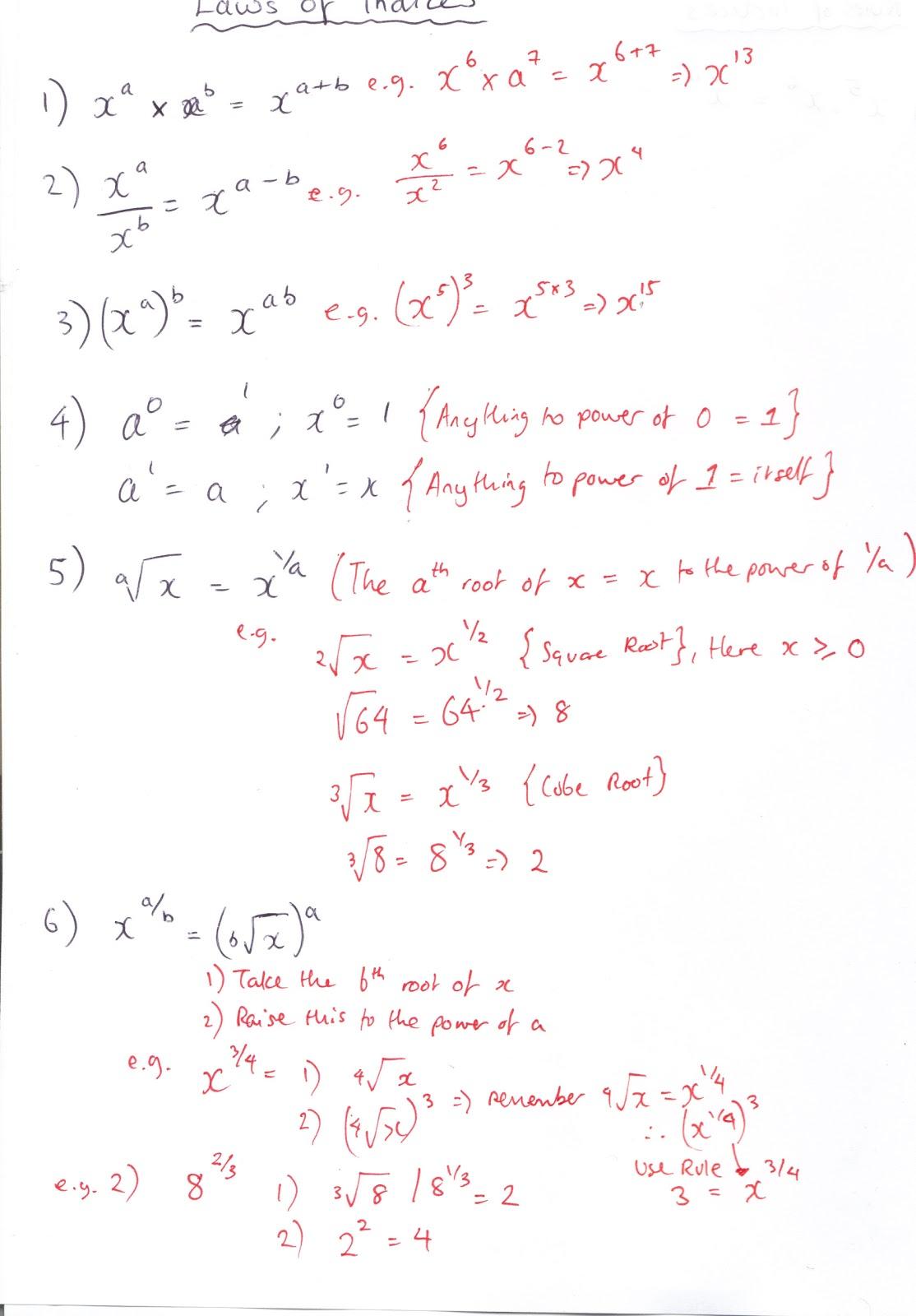 A Level Mathematics C1