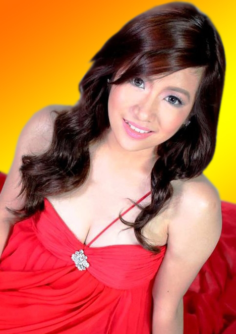 Angeline Quinto with mystery guy