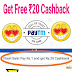 Get Free Paytm Cashback of Rs 20