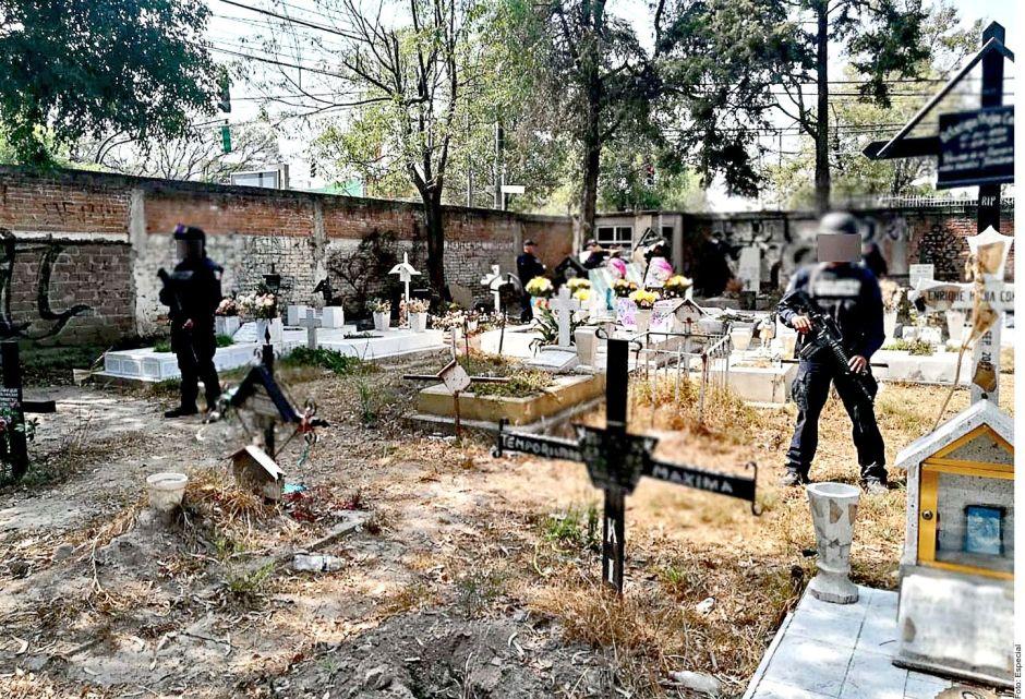 Huachicoleros ni a los muertos respetan; así operaban en un ¡cementerio! de la CDMX