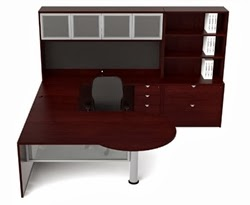 Cherryman Jade Series Executive Desk Set